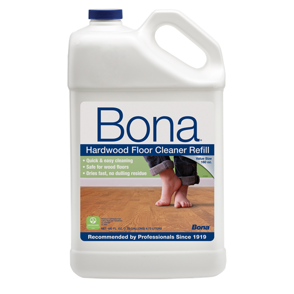 Bona hardwood floor cleaner 160 oz for Hardwood floor cleaner