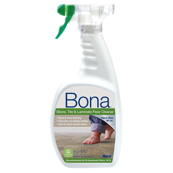 Bona Stone Tile Laminate Cleaner Oz Bona US - Rough tile floor cleaner