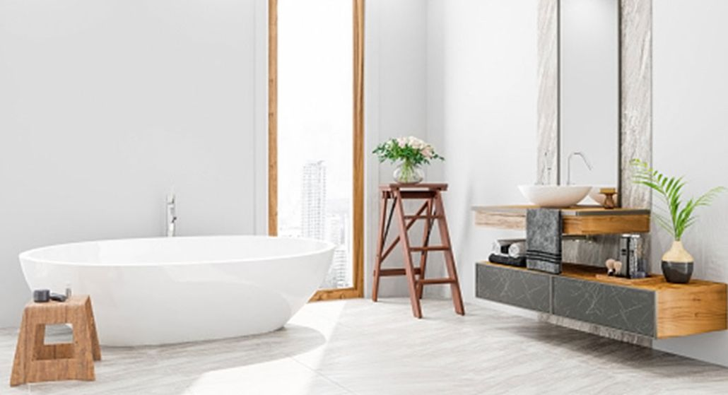 Update your bathroom floors and choose the right bathroom flooring option with help from Bona.