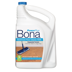 Wonderful Bona PowerPlus Hardwood Floor Deep Cleaner Refill (160 Oz.)