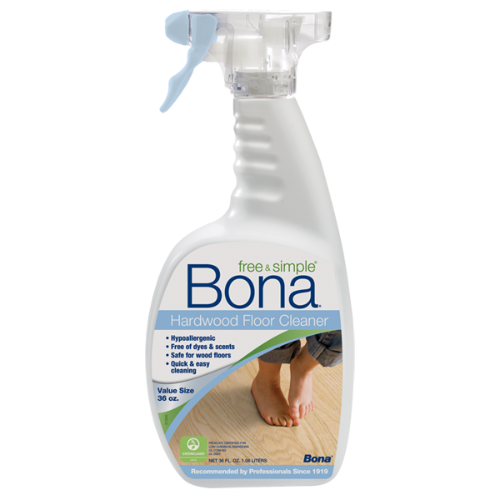 Bona free simple hardwood floor cleaner 36 oz bona us for Bona floor cleaner