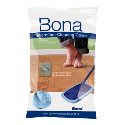 Bona® Microfiber Cleaning Cover Twin Pack