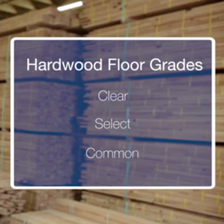 <p>The grade of wood for your floor also impacts the overall look. Learn more about hardwood floor grades at <strong>1:05</strong> in the video.</p><br/>