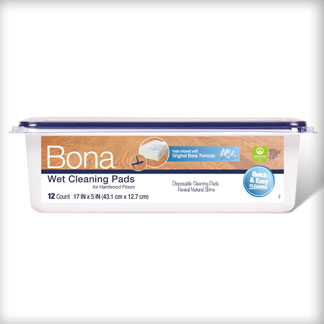 &lt;p&gt;See how Bona Wet Cleaning Pads are designed to clean better at 0:07.&lt;/p&gt;<br/>