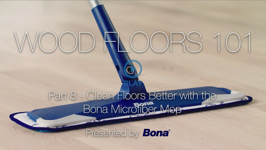 Cleaning With The Bona Microfiber Mop