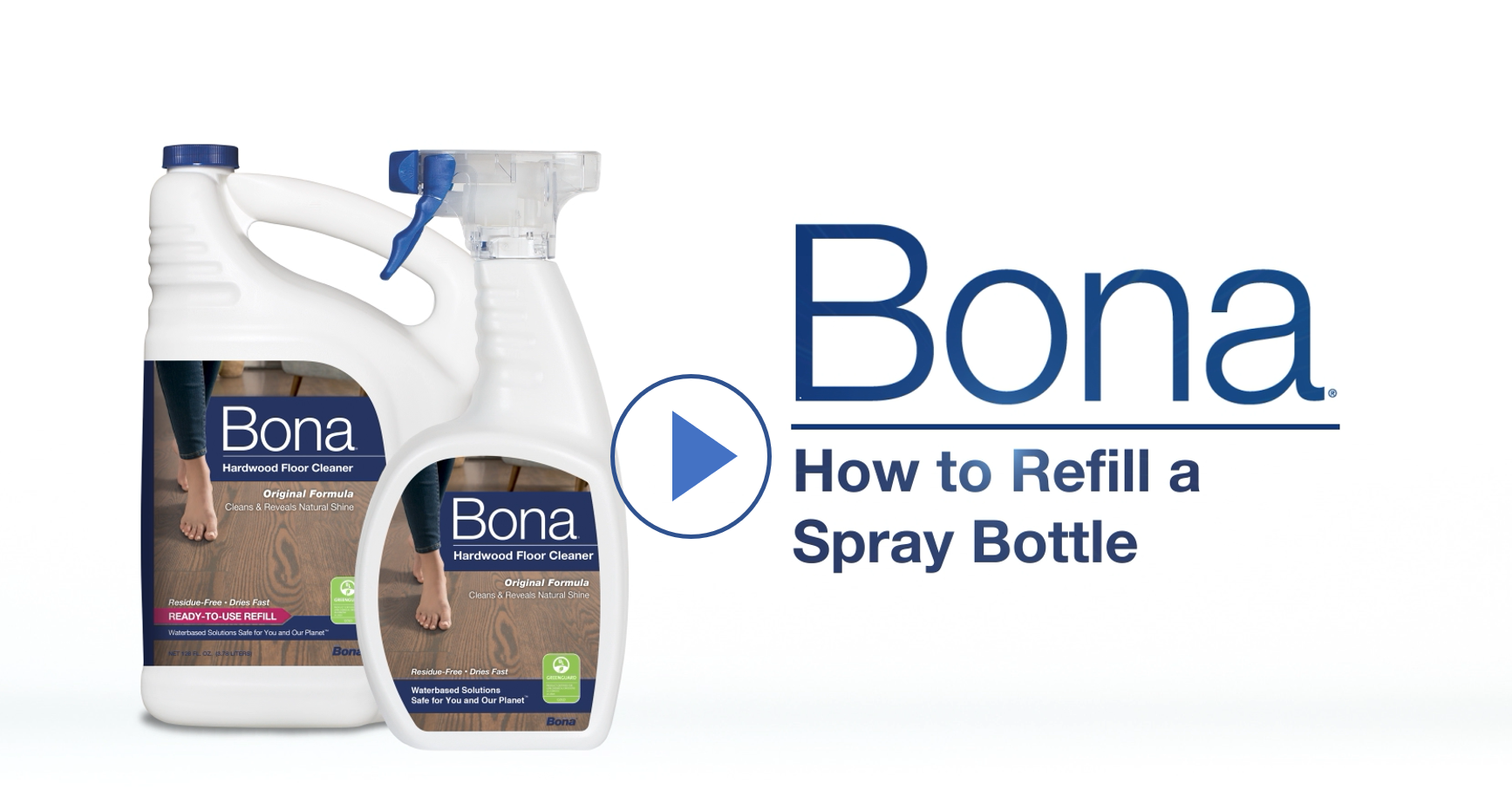 How to Refill Your Bona Spray Bottle