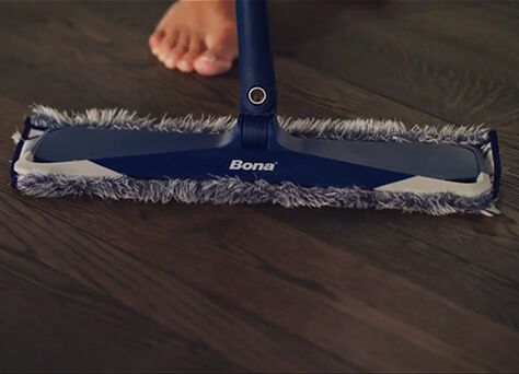 <p>Dust and dirt accumulation make chores harder and can scratch floors. Give floors a quick once-over every day.</p><br/>
