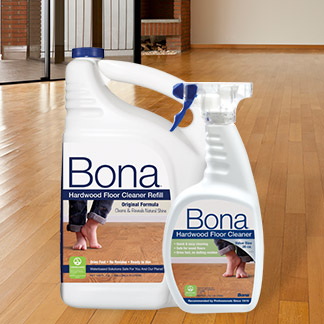 No Vinegar and Water on Wood | Bona US