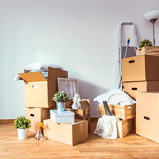 &lt;p&gt;A simple way to make your rooms more spacious is by getting rid of stuff you don&amp;rsquo;t need. Donate or sell things you don&amp;rsquo;t need to free up more space in your home. Giving your interior and exterior a good deep clean will also make your home feel like new.&lt;/p&gt;<br/>