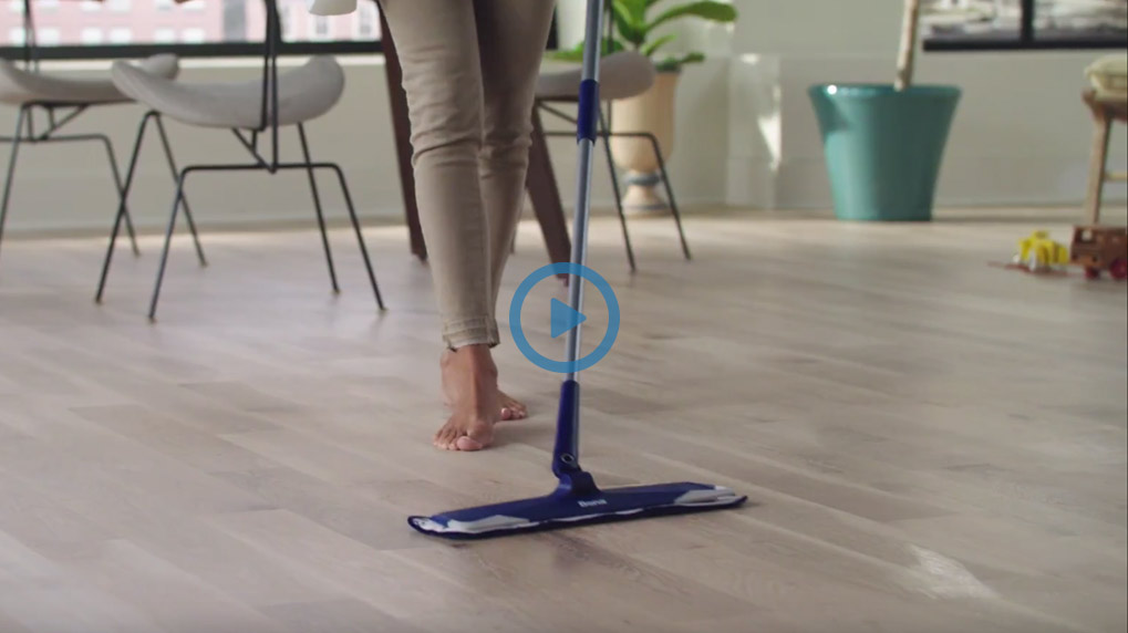 Learn how to clean floors fast and easy with Bona's Microfiber Mop and floor cleaners. Clean wood, stone, tile and laminate floors with Bona!