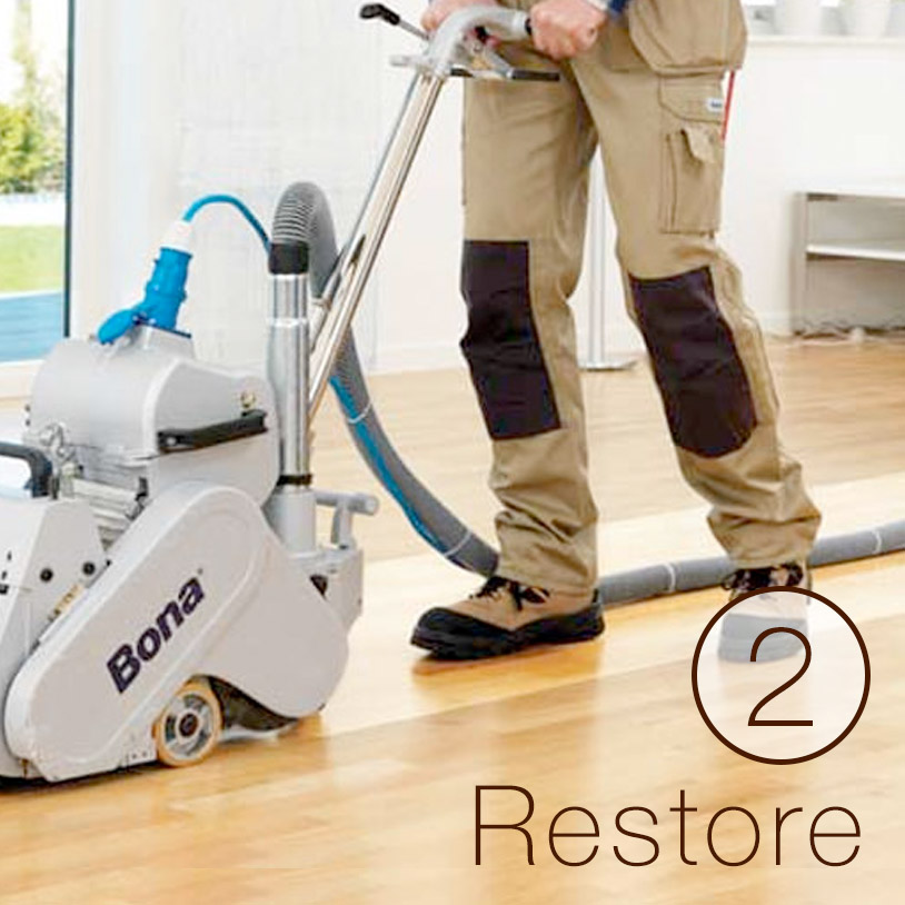 &lt;p&gt;Rejuvenate floors with a new coat of finish.&lt;/p&gt;<br/>