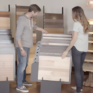 <p>Board sizes of wood flooring can do a lot to transform the look of your room. Imagine the possibilities at <strong>0:15</strong> in the video.</p><br/>